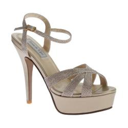 Women's Touch Ups Cori Platform Sandal Champagne Shimmer