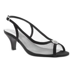 Women's Touch Ups Elite Slingback Black Satin