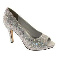 Women's Touch Ups Eliza Silver Satin