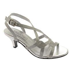 Women's Touch Ups Flatter Silver Glitter