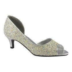 Women's Touch Ups Irene Ivory/Silver Glitter