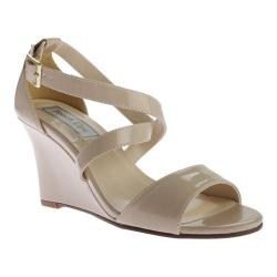 Women's Touch Ups Jenna Wedge Sandal Nude Patent