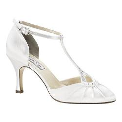Women's Touch Ups Katherine White Satin