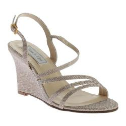 Women's Touch Ups Paige Wedge Sandal Champagne Shimmer
