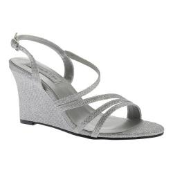 Women's Touch Ups Paige Wedge Sandal Silver Shimmer