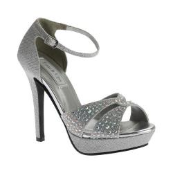 Women's Touch Ups Shelby Platform Sandal Silver Shimmer