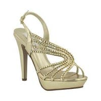 Women's Touch Ups Stephanie Gold Metallic