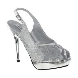 Women's Touch Ups Virginia Silver Glitter