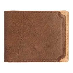 Men's Trafalgar Gramercy Park Slimfold Wallet Brown