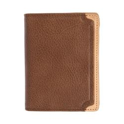Men's Trafalgar Gramercy Park L-Fold Wallet Brown
