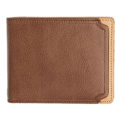 Men's Trafalgar Gramercy Park Removable Pass Case Wallet Brown