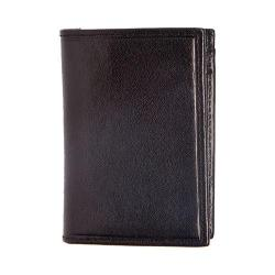 Men's Trafalgar Hawthorne Exterior Money Clip Wallet Black