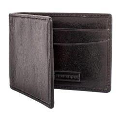Men's Trafalgar Hawthorne Interior Money Clip Wallet Black