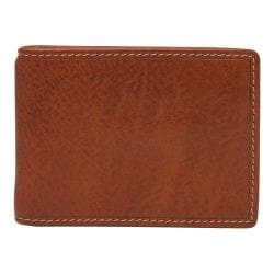 Men's Trafalgar Hawthorne Interior Money Clip Wallet Tan