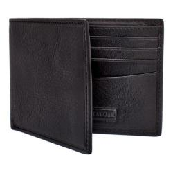 Men's Trafalgar Hawthorne Slimfold Wallet Black