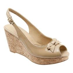 Women's Trotters Allie Nude Soft Patent/Nappa