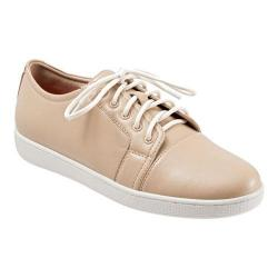 Women's Trotters Arizona Lace Up Nude Soft Nappa Leather