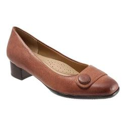 Women's Trotters Dionne Brick Casual Veg Leather