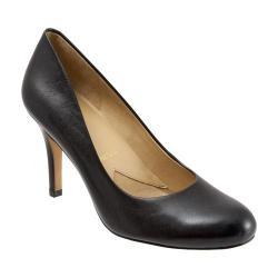 Women's Trotters Gigi Black Glazed Kid Leather