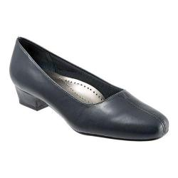 Women's Trotters Doris Navy Soft Kid (More options available)