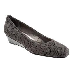 Women's Trotters Lauren Dark Grey 3D