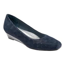 Women's Trotters Lauren Navy 3D
