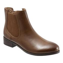 Women's Trotters Leah Cognac Veg Tumbled Leather
