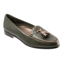Women's Trotters Leana Loden Burnished Soft Kidskin/Tan Patent