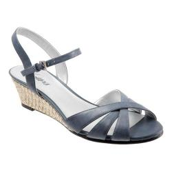 Women's Trotters Mickey Navy Soft Dull Leather