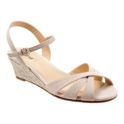 Women's Trotters Mickey Sand Diamond Perfed Nubuck/Smooth Nubuck Leather