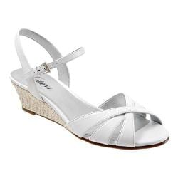 Women's Trotters Mickey White Soft Dull Leather
