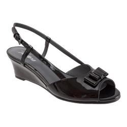 Women's Trotters Milly Black Patent