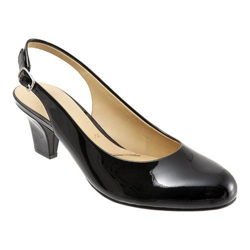 Women's Trotters Pella Black Patent Leather