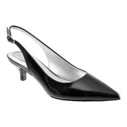 Women's Trotters Prima Black Patent Leather