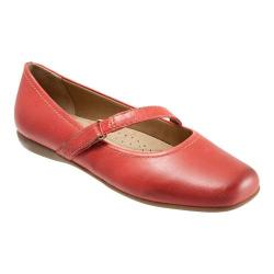 Women's Trotters Simmy Red Soft Dull Leather