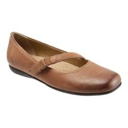 Women's Trotters Simmy Rust Veg Tumbled Leather