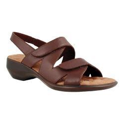 Women's Walking Cradles Lark Brown Leather