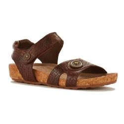 Women's Walking Cradles Pickens Sandal Tobacco Razor Leather/Cork