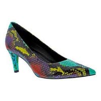 Women's Walking Cradles Sophia Pump Anaconda Multi Print PU