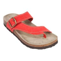 Women's White Mountain Carly Red Leather