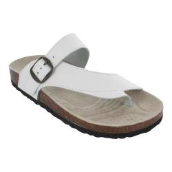 Women's White Mountain Carly White Leather
