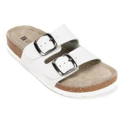 Women's White Mountain Helga White Leather