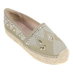 Women's White Mountain Herring Espadrille Olive Fabric