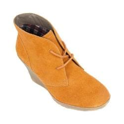 Women's White Mountain Icon Orange Suede
