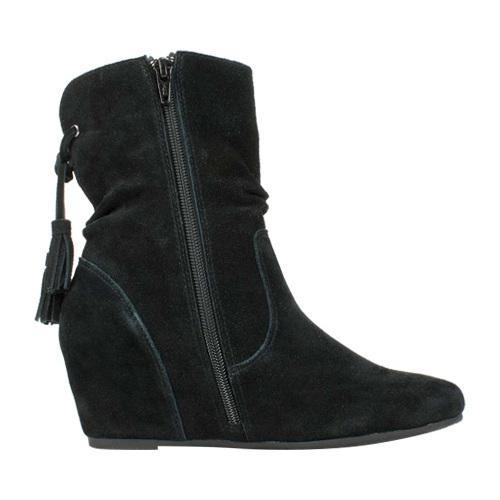 Shop Women S White Mountain Perfect Wedge Ankle Boot Black