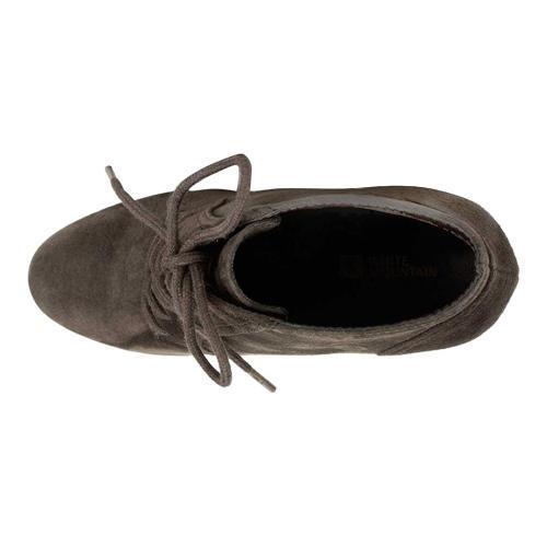 Women's White Mountain Special Ankle Bootie Brown Nubuck - Thumbnail 2