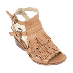 Women's White Mountain Saga Ankle Strap Sandal Luggage Leather