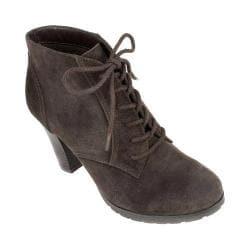 Women's White Mountain Special Ankle Bootie Brown Nubuck - Thumbnail 0