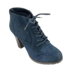 Women's White Mountain Special Ankle Bootie Navy Nubuck