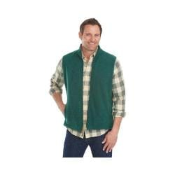 Men's Woolrich Andes II Fleece Vest Botanical